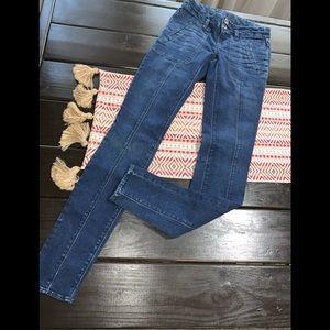 Madewell skinny jeans Sz 25